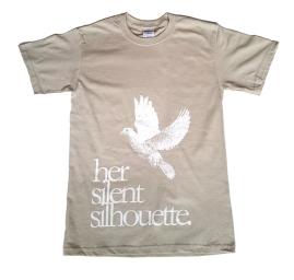 Her Silent Silhouette t-shirt design