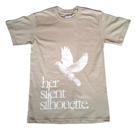 Her Silent Silhouette t-shirt design