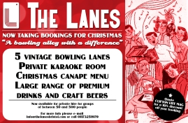 Christmas advert (Bristol Lanes)