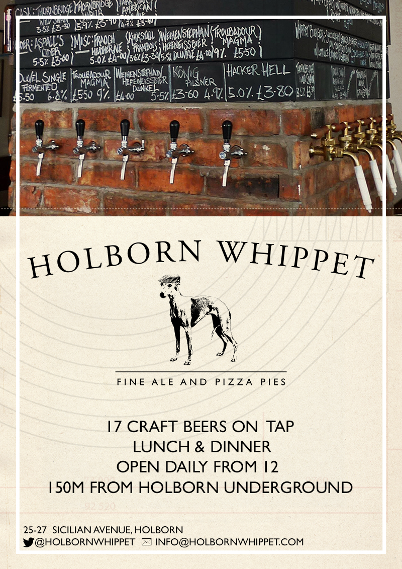 Promotional poster (Holborn Whippet)