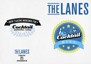 The Lanes Bristol - cocktail menu 2014