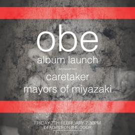 For Chaos Theory. Album launch in conjunction with regular night 'The Facemelter'.