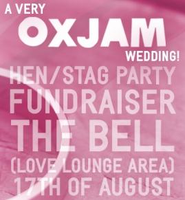 Oxjam 2013 Wedding fundraiser
