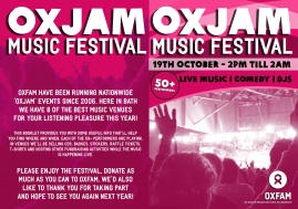 Oxjam 2013 booklet - outer cover