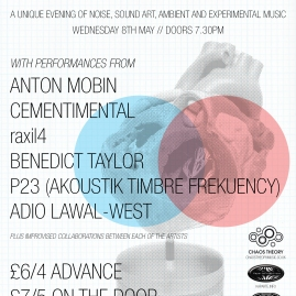 For Chaos Theory. A one-off electronica night in London.