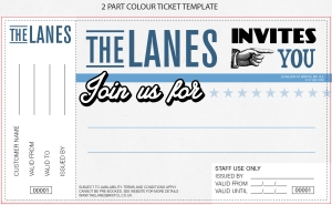 2 part colour ticket template UPDATED