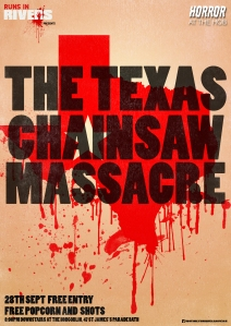 Runs In Rivers Texas Chainsaw Massacre poster