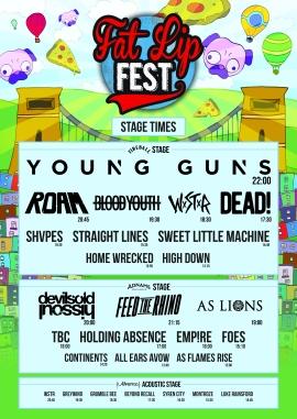flf stage times